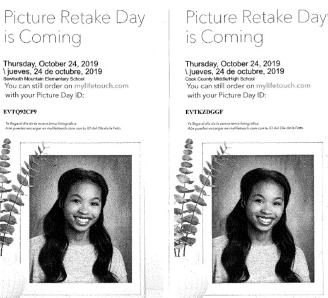 Photo retake day