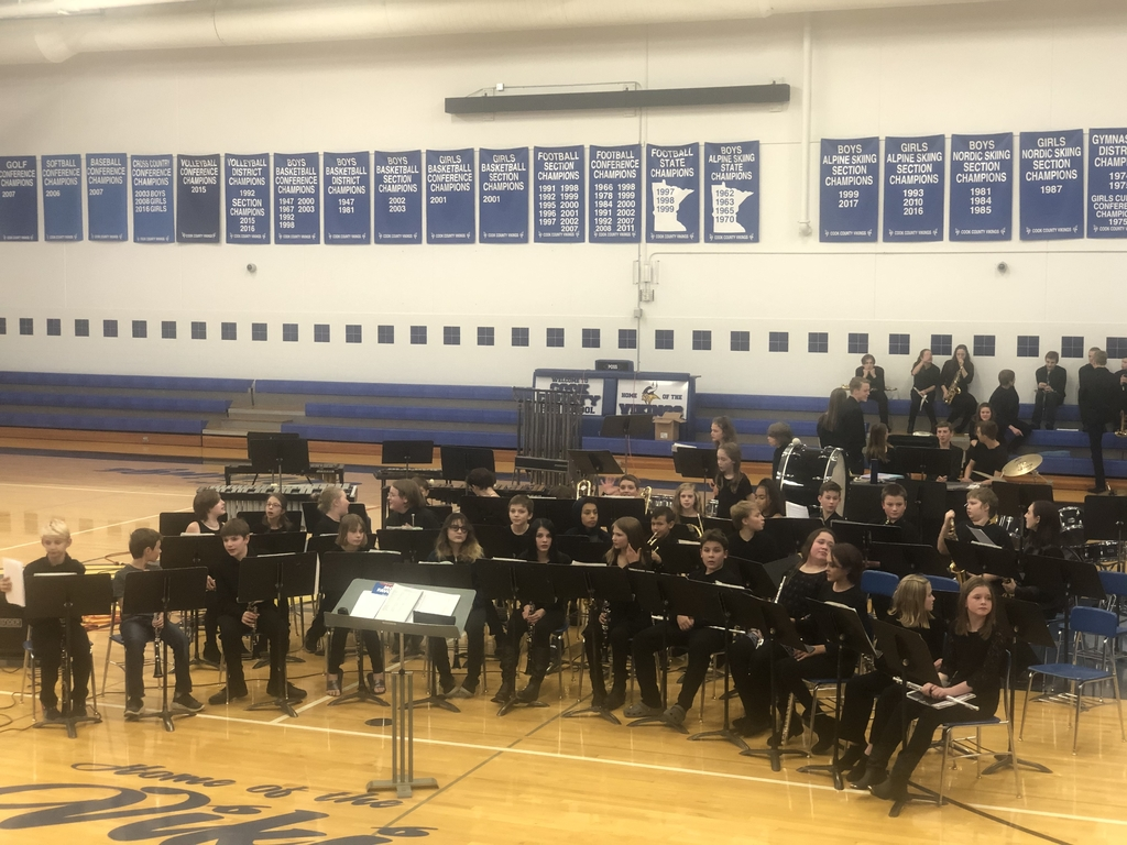 Band concert starts in 10 minutes.  There's still time to get here!