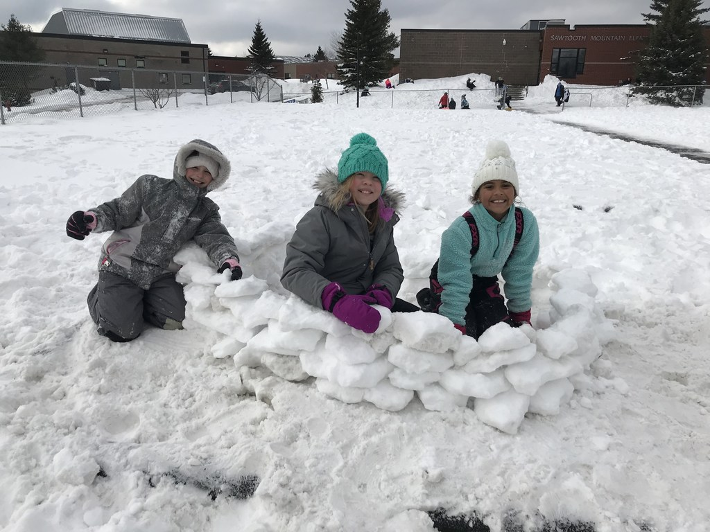 Snow Fort Fun