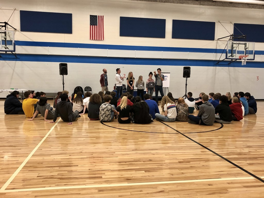 9th Grade Respect Retreat.