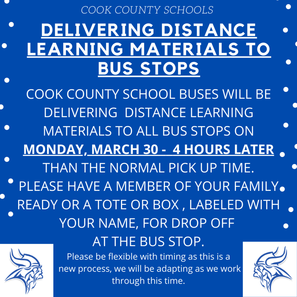 Monday, March 30th - 4 hours later than the normal pick up time. Example: If your child is picked up at 7:15 the drop off time would be 11:15.
