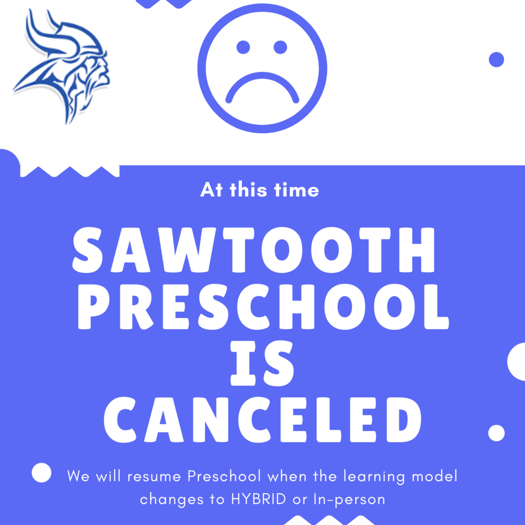 Preschool is canceled.